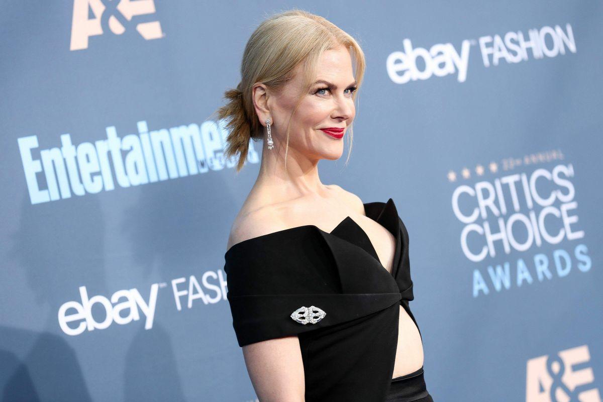"""حصدت الممثلة الأمريكية نيكول كيدمان أربع جوائز في حفل جائزة إختيار النقاد للأفلام """"annual Critics' Choice Awards"""" الـ23"""