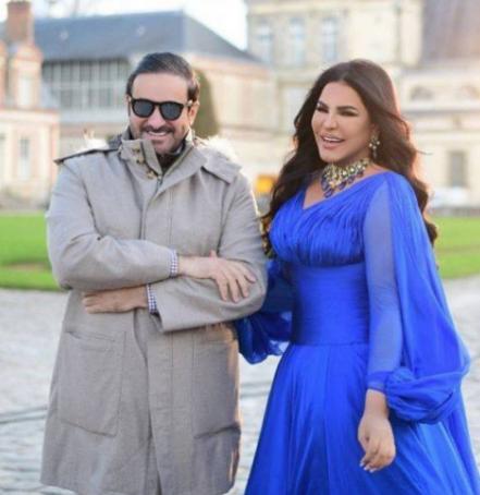 عبر رجل الأعمال مبارك الهاجري زوج الفنانة الإماراتية أحلام عن حبه الكبير لها من خلال رسالة رومانسية وجهها لها عبر الإنستغرام