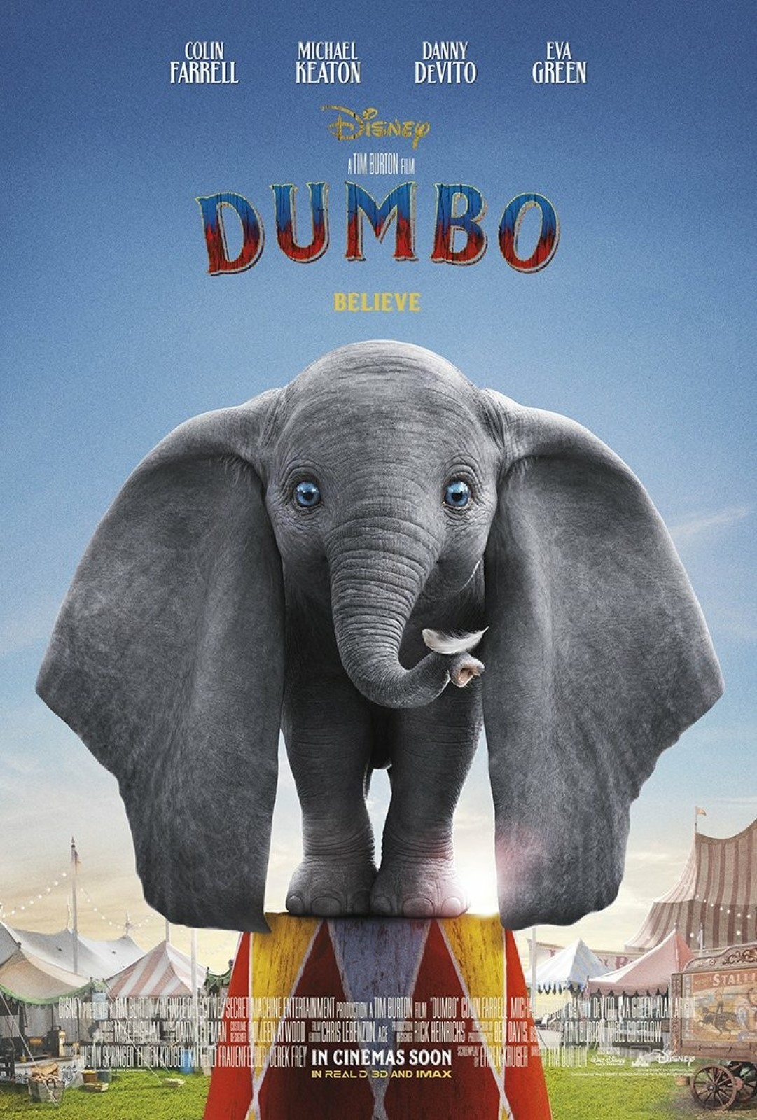 """حقق فيلم الأنيمشن العائلي """"Dumbo"""" إيرادات وصلت إلى 223 مليون دولار حول العالم، منذ طرحه يوم 29 مارس الماضى."""