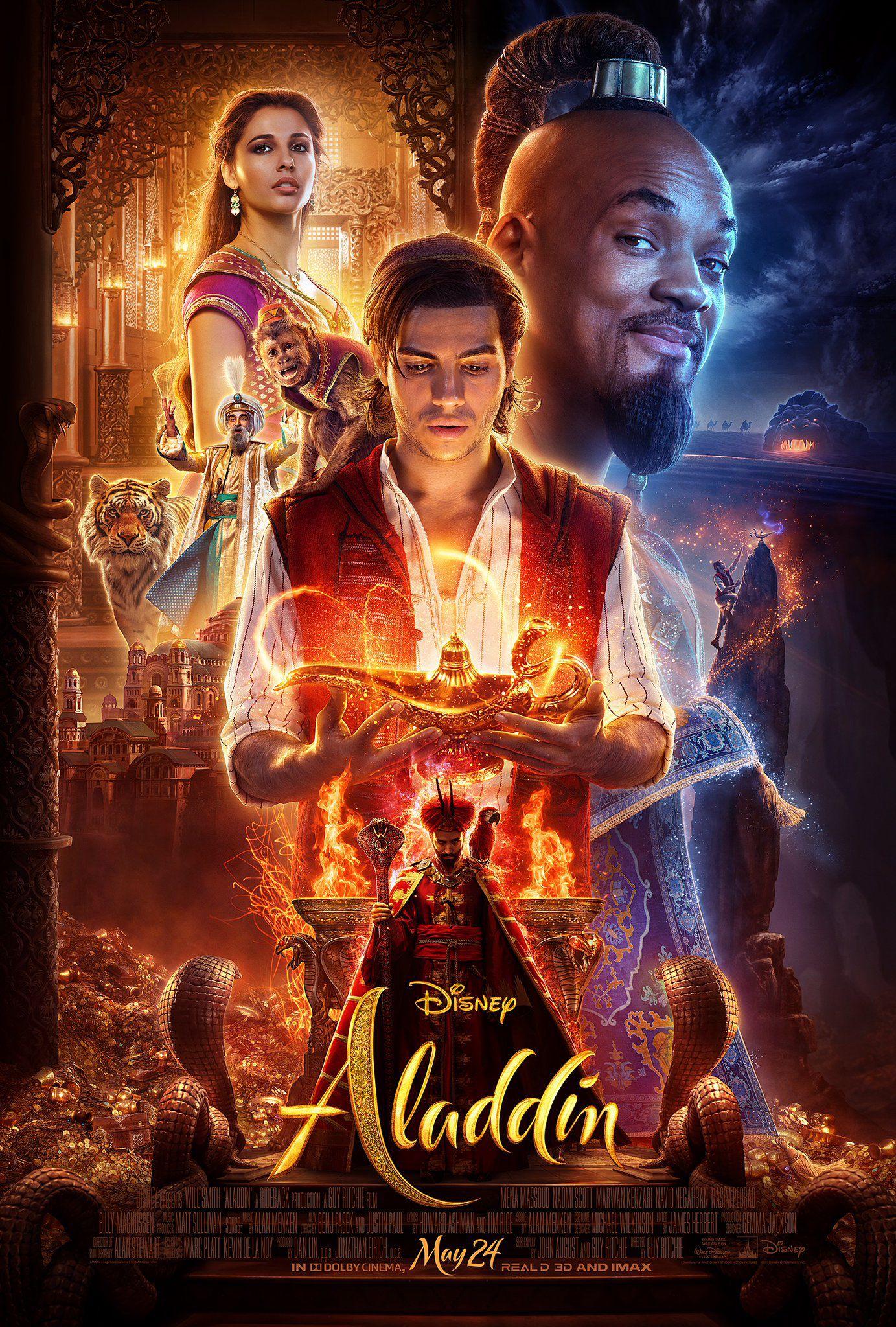 """طرح النجم زين مالك أغنية """"A Whole New World"""" من فيلم """"Aladdin"""" مع جيفايا وارد، وذلك قبل طرح الفيلم يوم 24 ماي الحالي، في صالات السينما بالولايات المتحدة الأميركية وأوروبا"""